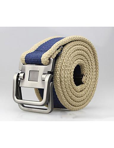 Mulheres Casual Tecido, Cinto para a Cintura Sólido / Como na Imagem / Todas as Estações