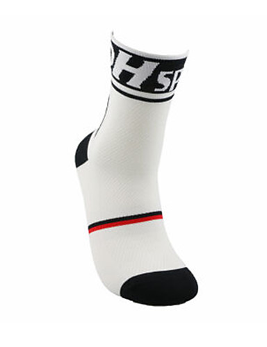 cheap Compression Clothing-Compression Socks Sport Socks / Athletic Socks Cycling Socks Men's Women's Cycling / Bike Bike / Cycling Breathable Sweat-wicking Winter Floral Botanical Cotton L-XL