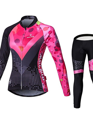 de0598d57 cheap Cycling Jersey  amp  Shorts   Pants Sets-Malciklo Women  039 s ·  Malciklo Women s Long Sleeve ...
