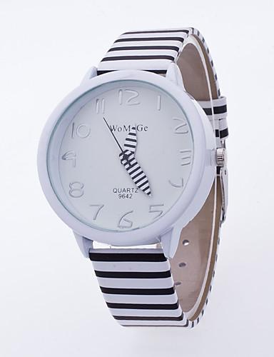 Herrn Quartz Armbanduhr / Schlussverkauf PU Band Blätter Freizeit Weiß Blau Rot Rosa Lila