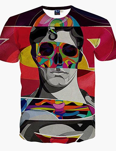 Homens Camiseta - Esportes Estampado