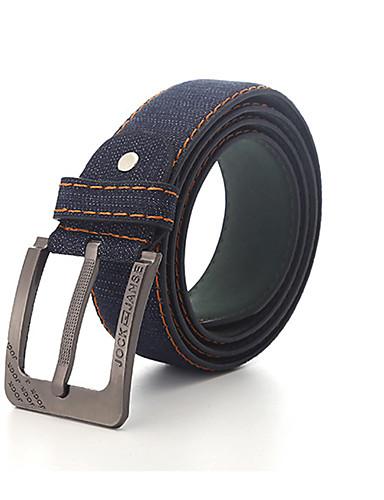 Hombre Legierung Cinturón de Cintura - Trabajo Un Color / Vaqueros
