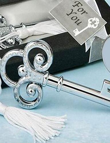 結婚式の好意とステンレス鋼の瓶の恩恵を受けるボトルオープナー