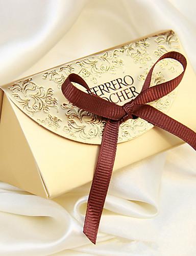 papel de tarjeta creativo a favor del titular con cajas de favor-12 favores de la boda