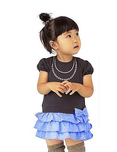 女の子の カジュアル/普段着 パッチワーク / ジャカード コットン / オーガニックコットン ドレス オールシーズン 長袖