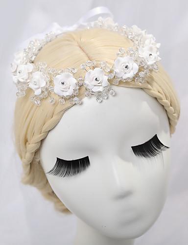 billige Tiaraer-legering tiaras headpiece bryllupsfesten elegant klassisk feminin stil