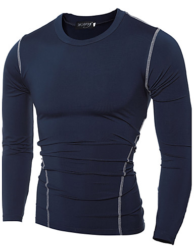 Pánské - Jednobarevné Sport Na běžné nošení Čínské vzory Tričko Bavlna Kulatý