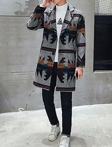 メンズ コート,ヴィンテージ シンプル ストリートファッション シャツカラー