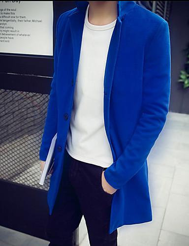 メンズ コート,シンプル 長袖