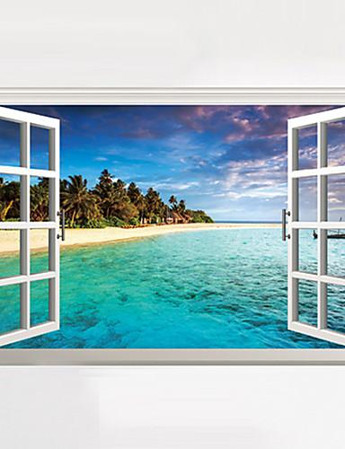 Adesivi decorativi di paesaggi in promozione online ...