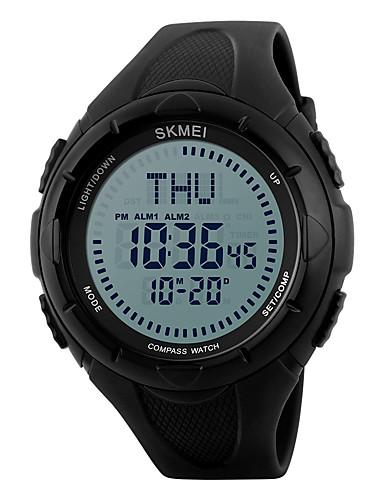 SKMEI Homens Digital Relógio de Pulso / Relógio Esportivo Alarme / Calendário / Impermeável / Legal / Noctilucente / Cronômetro / Bússula
