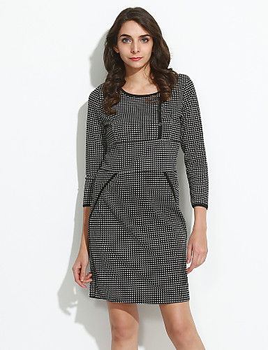 Women's Daily Simple Sheath Dress