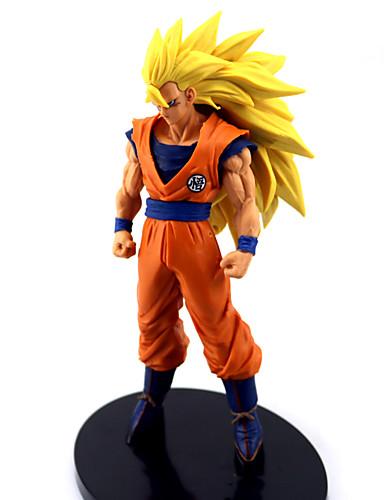 povoljno Anime cosplay dodaci-Anime Akcijske figure Inspirirana Dragon Ball Goku Anime Cosplay Pribor lik PVC Halloween kostime