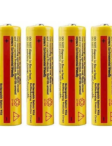 povoljno Vanjske baterije i više-baterija emiteri Može se puniti Hitan Rad Baterijska svjetiljka Bike Light Camping & planinarenje Lov Ribolov 4kom