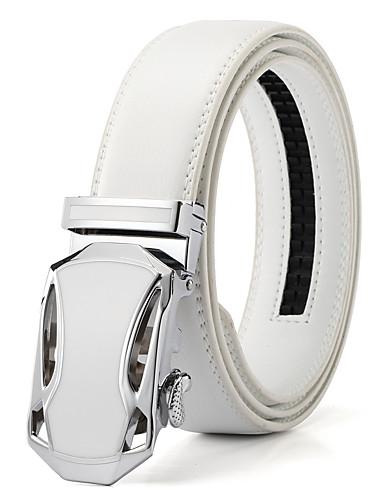 Homens Vintage Casual Liga, Cinto para a Cintura Sólido