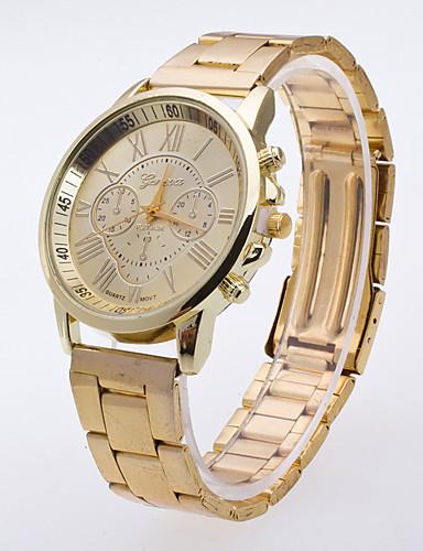 للرجال ساعة المعصم صيني ساعة كاجوال معدن / جلد فرقة سحر / موضة متعدد الألوان