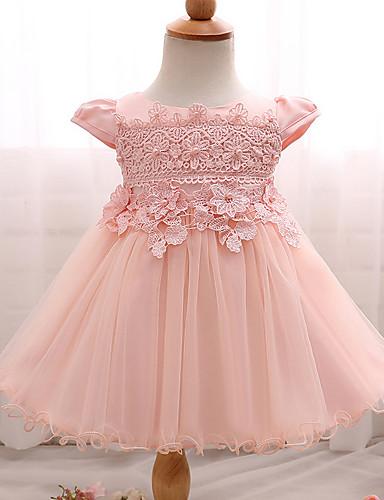 41fbb9d1b11 Μωρό Κοριτσίστικα Αργίες / Εξόδου / Παραλία Ζακάρ Κοντομάνικο Φόρεμα ...