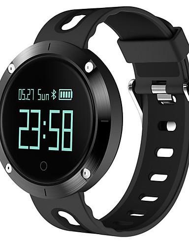 Homens Digital Relógio inteligente Chinês Tela de toque Calendário Cronógrafo Monitor de Batimento Cardíaco Impermeável Pedômetros