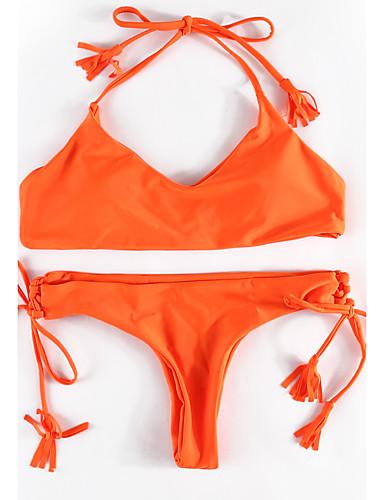 Mulheres Nadador Biquíni - Sólido