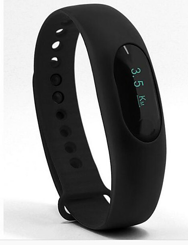 Miesten Digitaalinen Smartwatch Urheilukello Kiina Sykemittari LED Askelmittarit Sekuntikello Fitness-rannekkeet Silikoni Bändi Vapaa-aika