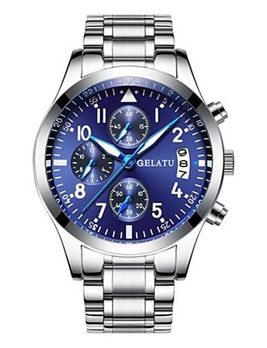 Pánské Sportovní hodinky Módní hodinky japonština Křemenný Voděodolné  Slitina Kapela Stříbro 80170c5511