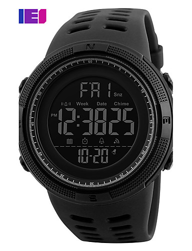 Pánské Sportovní hodinky / Inteligentní hodinky / Náramkové hodinky čínština Kalendář / Chronograf / Voděodolné Silikon Kapela Přívěšky /