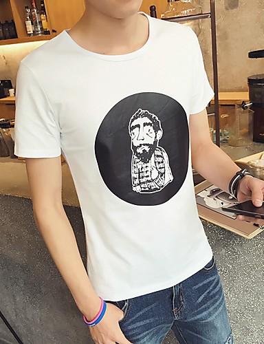 Damen Solide Sexy Ausgehen T-shirt,Rundhalsausschnitt Kurzarm Baumwolle