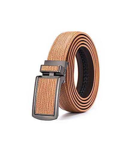 Homens Vintage Casual Cinto Liga, Cinto para a Cintura - Côr Pura Sólido