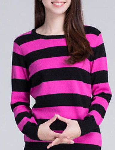 Women's Daily Casual Regular Cashmere