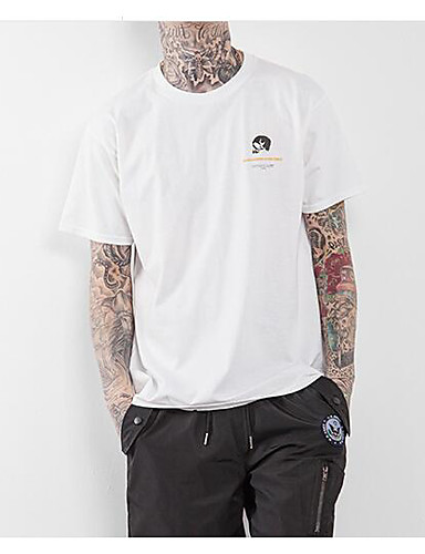 Men's Sports Going out Daily Sexy Casual Active Spring Summer T-shirt