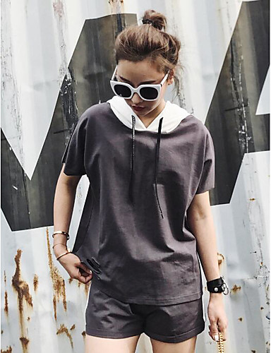 Women's Daily Casual Casual Summer Hoodie Pant Suits