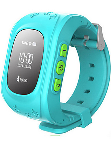 Kid's Fashion Watch Digital Water Resistant / Water Proof Rubber Band Blue Green Pink
