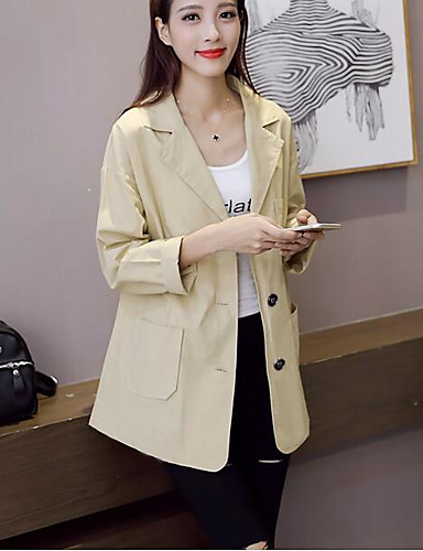 Women's Casual/Daily Casual Fall Suit