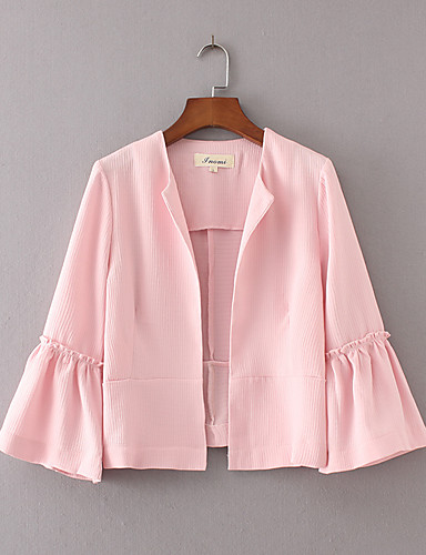 Women's Going out Daily Street chic Spring Summer Jacket