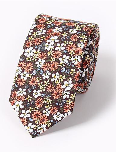 Men's Cotton Necktie Print