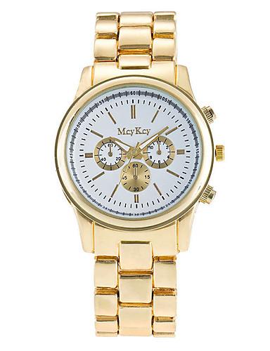 Dame Selskapsklokke Moteklokke Armbåndsur Unike kreative Watch Hverdagsklokke Simulert Diamant Klokke Kinesisk Quartz Metall Legering Band