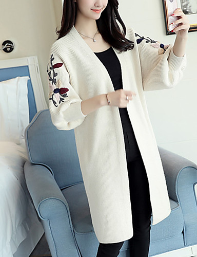 Women's Daily Casual Regular Cardigan