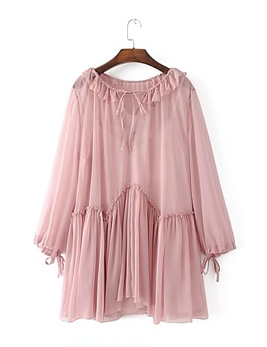 Women's Going out Daily Simple Street chic Loose Dress