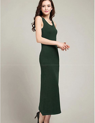 Women's Daily Bodycon Sheath Dress