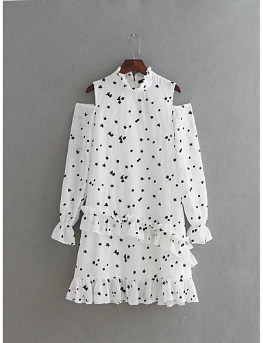 Women's Going out Daily Simple Street chic Loose Shift Shirt Dress