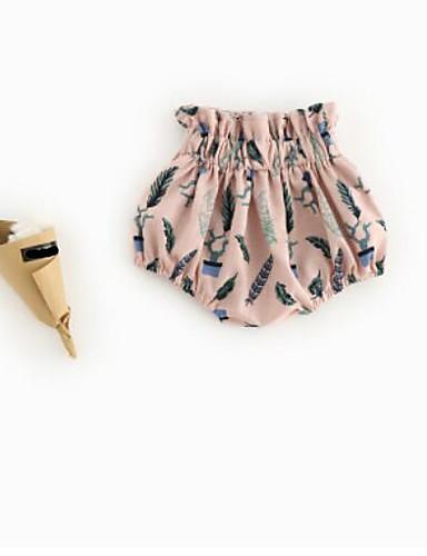 Boys' Solid Print Shorts Summer