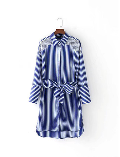 Women's Going out Daily Simple Cute Street chic Loose Lace Dress