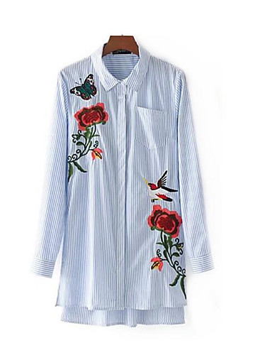 Women's Going out Daily Vintage Casual Street chic Summer Fall Shirt
