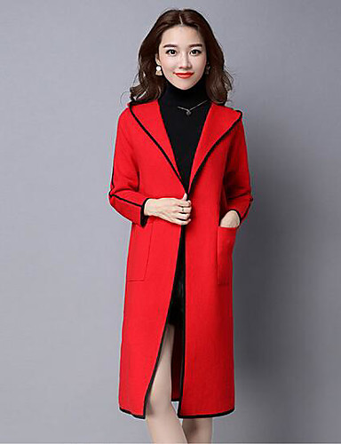 Women's Daily Casual Fall Winter Coat