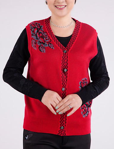 Women's Daily Casual Regular Vest