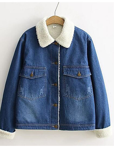Women's Daily Casual Fall Winter Jacket