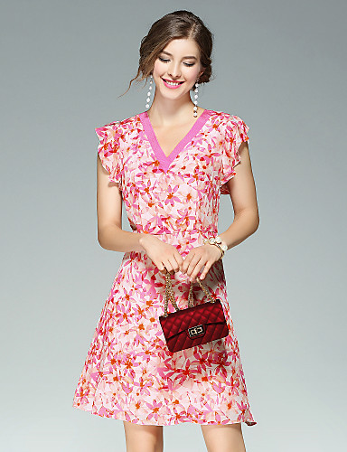 Women's Daily Going out Street chic Sheath Dress