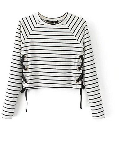 Women's Going out Daily Street chic Short Pullover