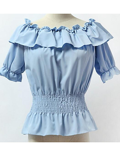 Women's Going out Daily Street chic Summer Blouse