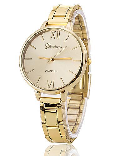 Mulheres Único Criativo relógio Relógio de Pulso Relógio Elegante Relógio de Moda Relógio Casual Chinês Quartzo Relógio Casual Lega Banda